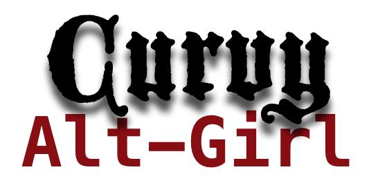 The Curvy Alt-Girl